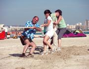 Teambuilding auf Mallorca Strand
